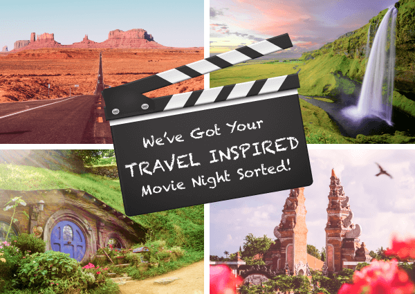 We've got your next travel-inspired movie night sorted